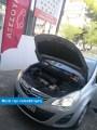 Αυτοκίνητο πελάτη μας (Opel Corsa D, 2011), μετά την τοποθέτηση των LED στην πλευρά του οδηγού – Φωτογραφία από Trop.gr