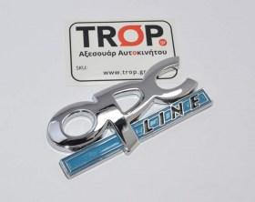 OPC Line Αλουμίνιο Αυτοκόλλητο Σήμα για Opel Αυτοκίνητα - Φωτογραφία τραβηγμένη από TROP.gr