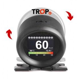 Οργάνο Θερμοκρασίας Ψυκτικού Υγρού OBD2 – Διαγνωστικό Αυτοκινήτου