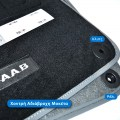 Πατάκια με χοντρή αδιάβροχη μοκέτα, ρέλι, κλιπς στήριξης - Πατάκια SAAB 9-3 2ης Γενιάς - TROP.gr