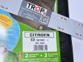 Ετικέτα συσκευασίας σε λαστιχένια πατάκια για Citroen C2 - Φωτογραφία από TROP.gr