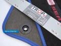 Ενσωματωμένα κουμπώματα στήριξης ειδικά για το πάτωμα του Seat Ibiza - Φωτογραφία TROP.gr