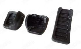 Πεταλίερα για Μηχανικό Κιβώτιο (MT): Πεντάλ συμπλέκτη, φρένου και γκαζιού (3 τεμάχια) - Οπίσθια όψη