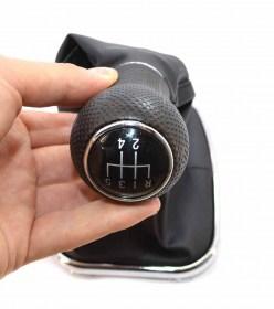 Πόμολο επιλογέα ταχυτήτων από τεχνόδερμα για Volkswagen αυτοκίνητα