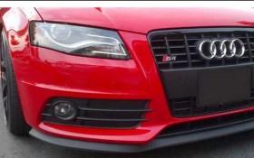 Το χείλος τοποθετημένο (Μαύρο Χρώμα) σε Audi