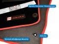 Πατάκια Μοκέτα Seat Ibiza Cupra (6J), με Κλιπς και Χοντρή Αδιάβροχη Μοκέτα - Φωτό TROP.gr