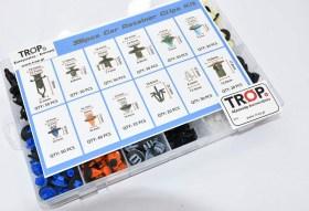 Σετ 395 Πλαστικά Κουμπώματα για Toyota – Κασετίνα 12 Τύποι