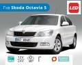 Σετ Λάμπες Αυτοκινήτου LED H7, W5W με CanBus, για Skoda Octavia 5 (2004 έως 2013)  – Φωτογραφία από Trop.gr