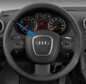 Διακοσμητικό Πλαίσιο – Σήμα για Τιμόνια Audi