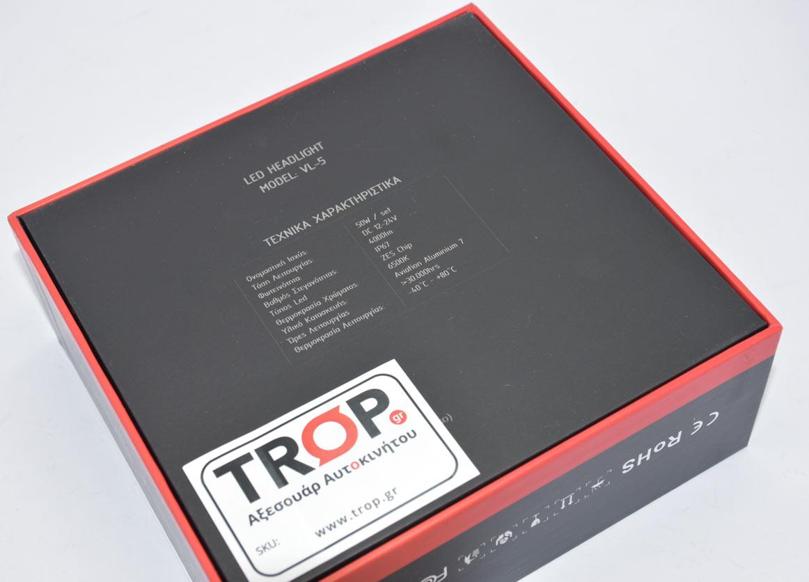 Σετ Λάμπες LED για Triumph Tiger 1050, χαρακτηριστικά λαμπών LED – Φωτογραφία από Trop.gr