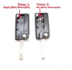 Επιλέξτε τον τύπο κλειδιού που ταιριάζει στο αυτοκίνητο σας. Ανοίξτε το παλιό κλειδί σας με ένα κέρμα ή κατσαβίδι και δείτε τη θέση της μπαταρίας.