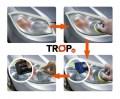 Εφαρμογή σε 3 εύκολα βήματα: τρίψτε, γυαλίστε και προστατέψτε.
