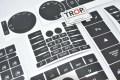 VW Touareg Αυτοκόλλητα Κουμπιών Διακοπτών Παραθύρων, Τιμονιού, Ραδιοφώνου, Κονσόλας και Κλιματισμού – Φωτογραφία από Trop.gr