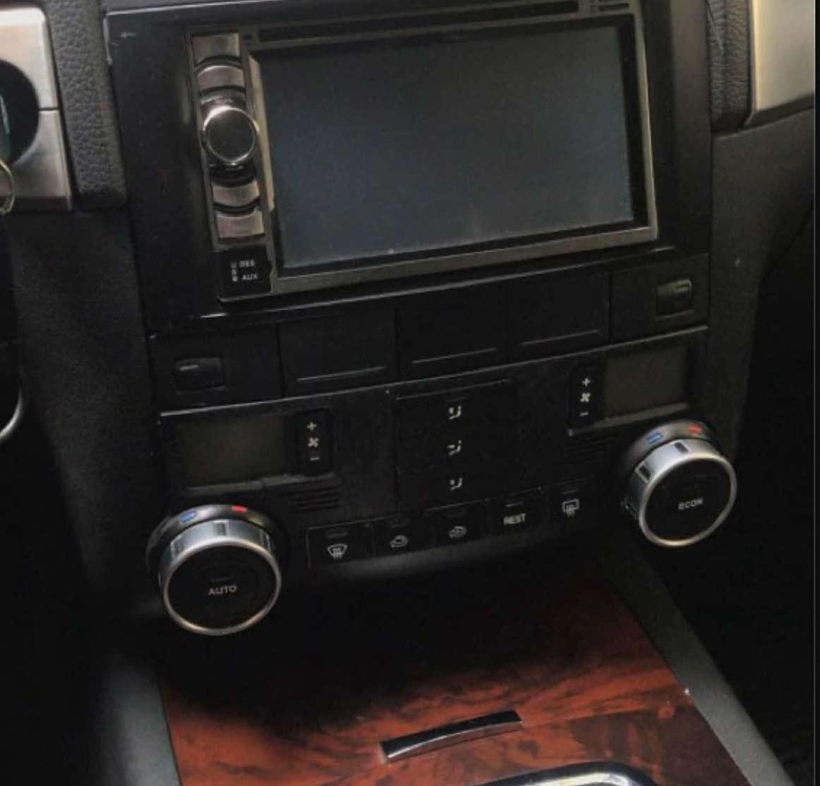 VW Touareg Αυτοκόλλητα Κουμπιών Διακοπτών