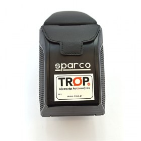 Sparco Υποβραχιόνιο (τεμπέλης - armrest) Universal, λεπτομέρεια - TROP.gr