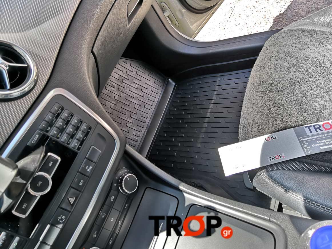 Τοποθετημένο πατάκι-σκαφάκι σε αυτοκίνητο πελάτη στο κατάστημα μας - TROP.gr
